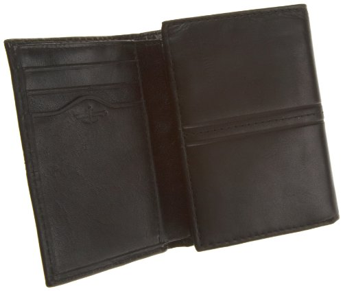Dockers  Men's Glazed Rustler Leather Wallet