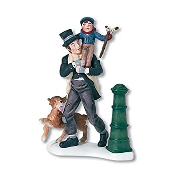 #!Cheap Department 56 Dickens' A Christmas Carol Bob Cratchit And Tiny Tim