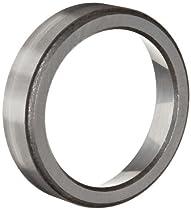 Timken 07196 Tapered Roller Bearing, Single Cup, Standard Tolerance, Straight Outside Diameter, Steel, Inch, 1.9690