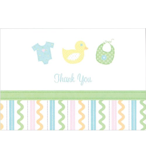 Sweet Baby Thank You Cards and Envelopes - Pack