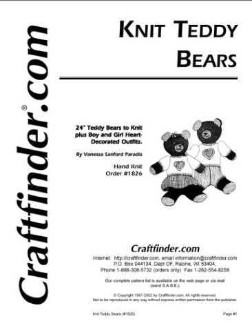 free teddy bears knitting patterns download 100 s of free teddy bears