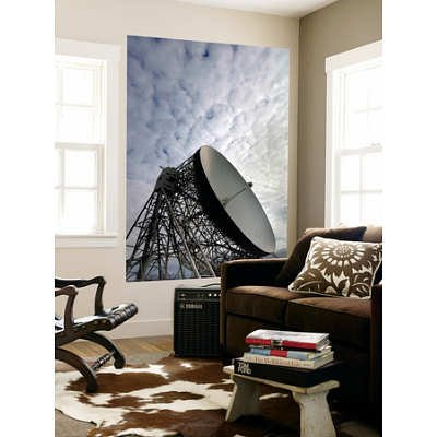 (48X72) Stocktrek Images- The Lovell Telescope At Jodrell Bank Observatory In Cheshire, England Huge Wall Mural