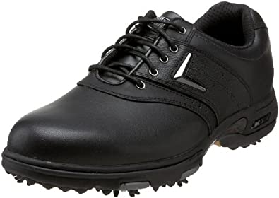 Callaway Men's XTT LT Saddle Golf Shoe,Black,18 M US