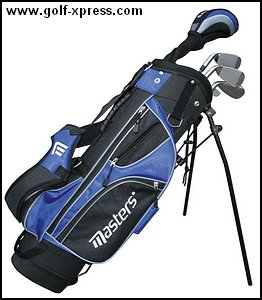 Masters MC-J520 Half Set 6-8 - Black/Blue Right Hand Graphite Junior