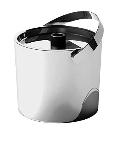 MEPRA S.p.A. Ice Bucket with Lid, Stainless Steel