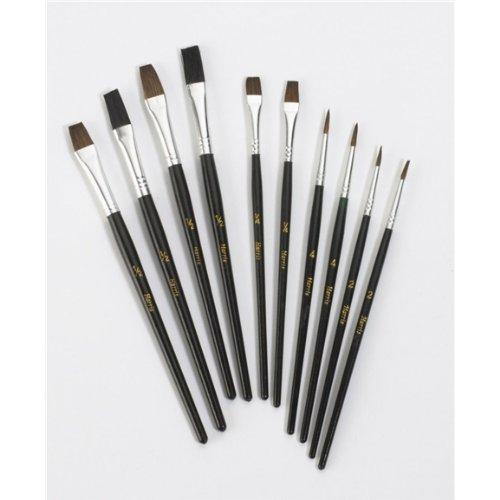 Harris Taskmasters Artists 10 Paint Brushes Set
