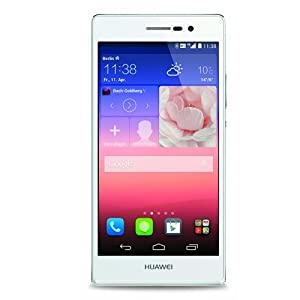 Huawei Ascend P7 Smartphone débloqué 4G (Ecran: 5 pouces - 16 Go - Android 4.4 KitKat - simple SIM) Blanc