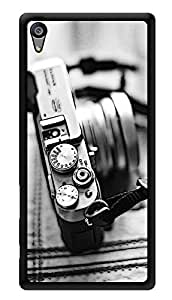 """Humor Gang Vintage Camera Love Printed Designer Mobile Back Cover For """"Sony Xperia Z5"""" (3D, Glossy, Premium Quality Snap On Case)"""