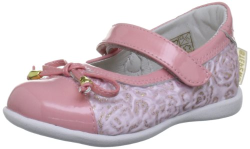 Step2wo Mini Rose Pink Shoe Ballerina S23-116504b 4 UK Toddler