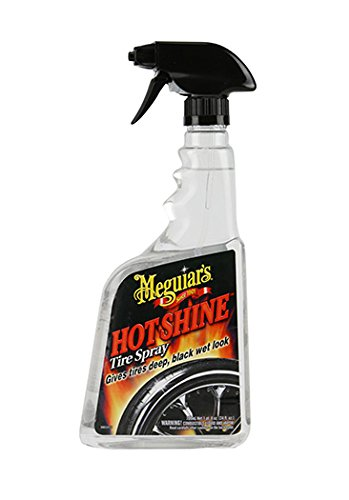 Meguiar's G12024 Hot Shine High Gloss Tire Spray - 24 oz. (Wheel Tire Cleaner compare prices)
