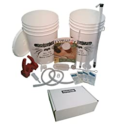 HomeBrewStuff Home Beer Brewing Starter Equipment Kit + Pale Ale ingredient Kit