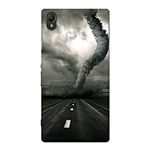 Ajay Enterprises Bawander at Road Back Case Cover for Sony Xperia Z1