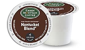 Green Mountain Coffee K-Cups, Nantucket Blend K-Cup Portion Pack for Keurig Brewers 96-Count