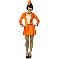 Rasta Imposta Dumb And Dumber Lloyd Skirt Suit, Orange, Adult 4-10
