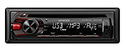 See Kenwood KDC-118U In-Dash 1-DIN CD AUX/USB MP3 AM/FM Car Audio Receiver Stereo Details