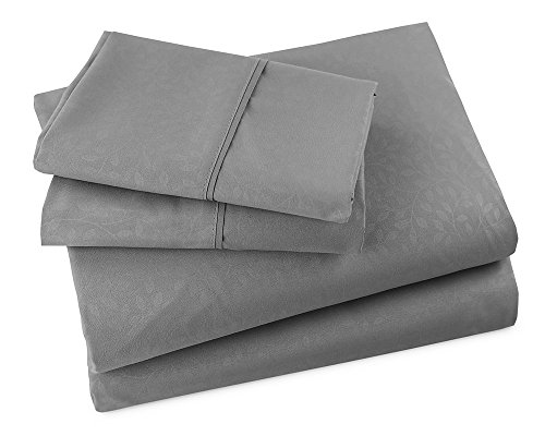 Luxor Linens - Bed Sheet Set - Valli Line - Luxurious Hotel Quality, Extra Soft & Wrinkle Resistant 100GSM Microfiber 4-Piece Sheet Set - Available in Various Sizes and Colors (High Quality Quilts compare prices)
