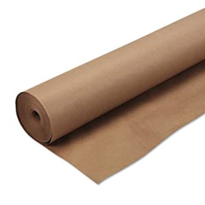 Pacon Kraft Wrapping Paper, 48 X 200 Inches Natural (5850)