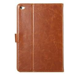 GENERIC ENKAY Crazy Horse Flip Smart Leather Case With Holder & Sleep/Wake-up Function For iPad Mini 4