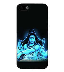 printtech Lord God Om Namah Shivaya Back Case Cover for Apple iPhone 5S