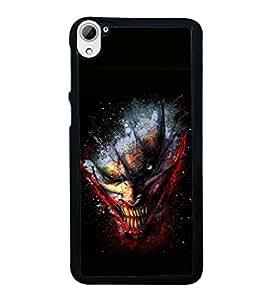 printtech Joker Gotham Art Scary Back Case Cover for HTC Desire 826 Dual
