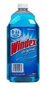 Windex, Blue, 2-Liter Bottles (Pack of 6)