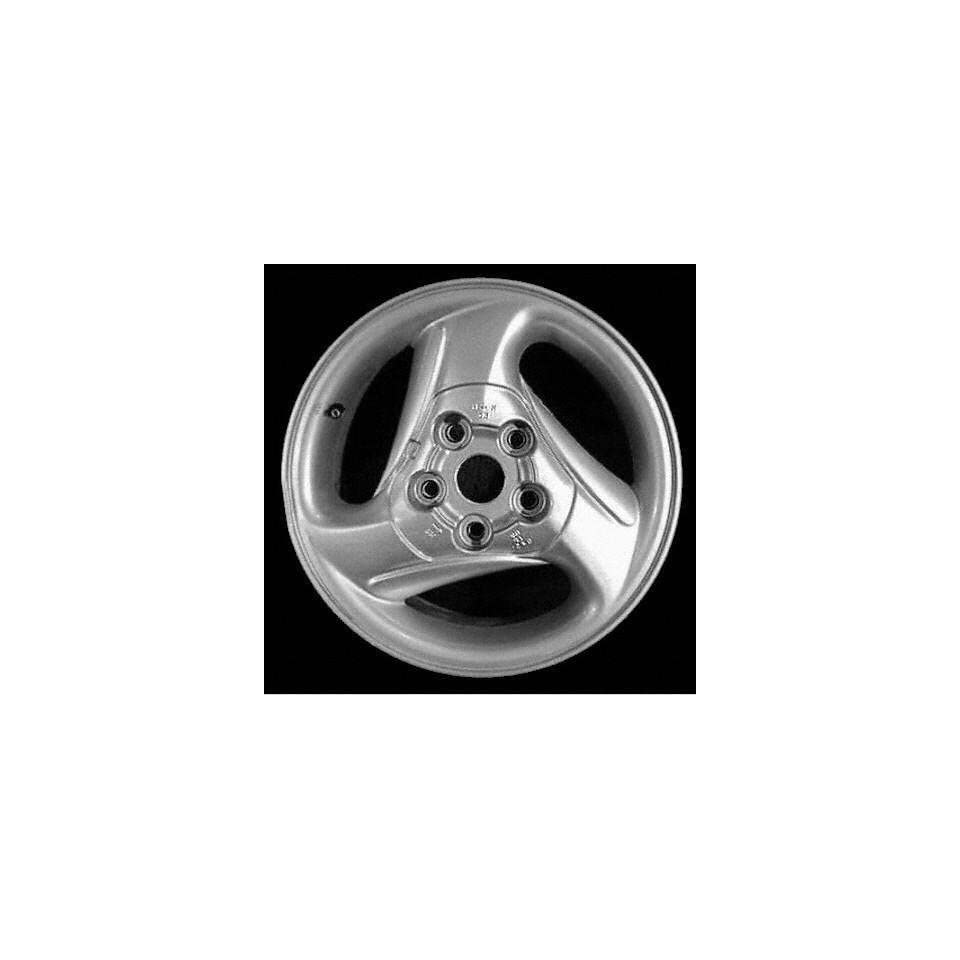 95 97 FORD PROBE ALLOY WHEEL LH (DRIVER SIDE) RIM 15 INCH, Diameter 15, Width 6 (3 SLOT, DRIVER SIDE), SILVER, Remanufactured (1995 95 1996 96 1997 97) ALY03130L10