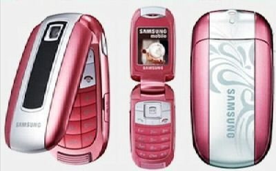 Samsung E570 Pink Mobile Phone on Vodafone PAYG