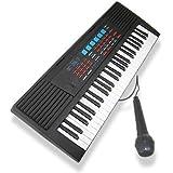 49 Keys Musical Electronic Keyboard - Black