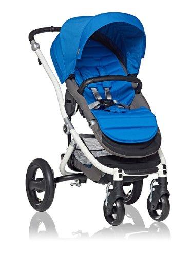 Britax Affinity Stroller, White/Sky Blue