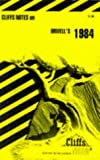 img - for CliffsNotes on Orwell's 1984 book / textbook / text book