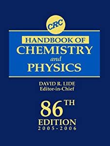 crc handbook of chemistry and physics 84th edition