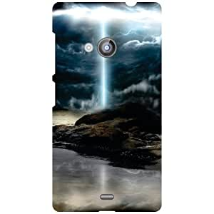 Nokia Lumia 535 Back Cover - Sharpen Designer Cases