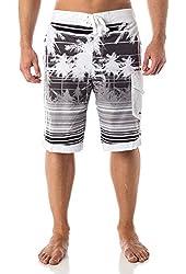Alki'i Men's Hybrid Boardshorts with mesh lining - Isla Palms