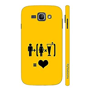 Enthopia Designer Hardshell Case LOVE WOMEN N ALCOHOL Back Cover for Samsung Galaxy J1