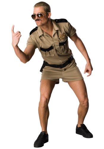 Rubies Mens Tv Show Funny Police Cop Reno 911 Lt. Dangle Comical Fancy Costume