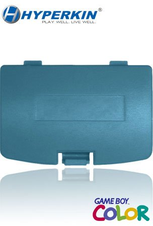 Hyperkin Game Boy Color Battery Cover - Turquoise (Free Handhelditems Sketch Universal Stylus Pen)