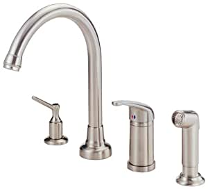 Danze D409012SS Melrose Single Handle Kitchen Faucet