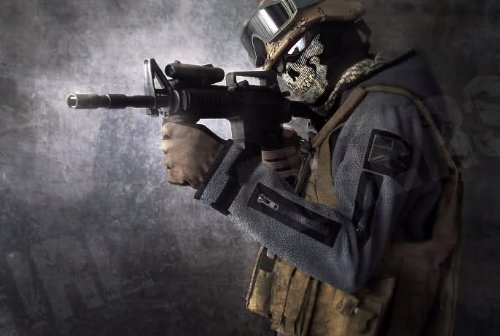 TF141 隊員 ゴースト フリースジャケット コールオブデューティ Call of Duty Modern Warfare 2 CoD MW2 サイズM