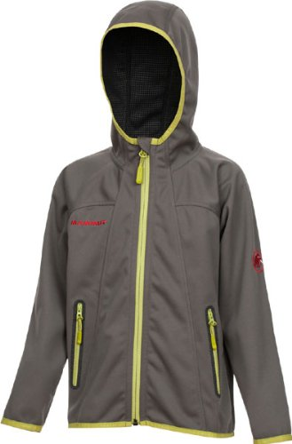 Mammut Ultimate Hoody Jacket Kids smoke/black 164