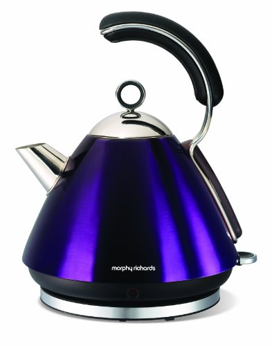 Morphy Richards Meno 43887 Traditional Kettle, Plum