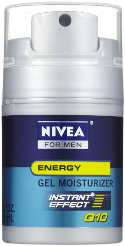 Nivea for Men Q10 Energy Gel Moisturizer, 1.7 Ounce