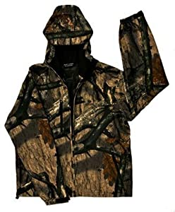 Drift Creek 4405 Mossy Oak Camo Tundra Tech Waterproof Rain Jacket - 3X-Large by Drift Creek Outdoors