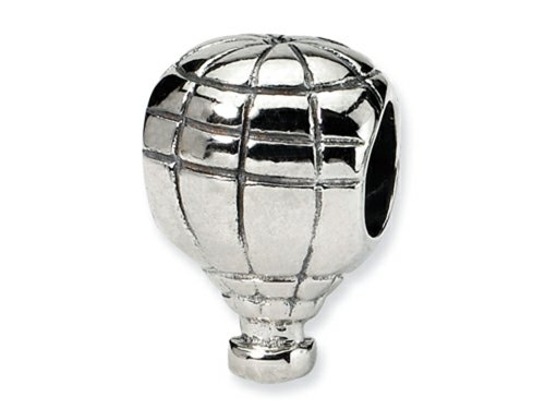 Reflections Sterling Silver Hot Air Balloon Bead / Charm