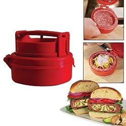 Stufz Stuffed Hamburger Burger Press Meat Pizza Stuffed Patty Maker -