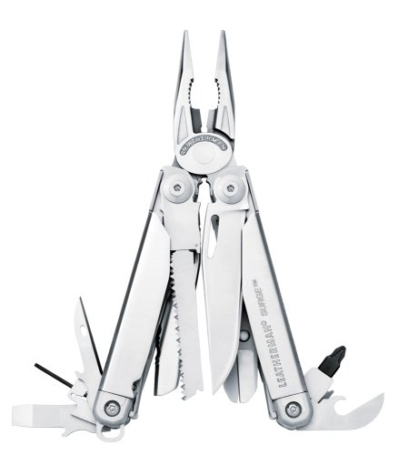 Leatherman Surge Pocket Multitool with Nylon/Leather Sheath 830160