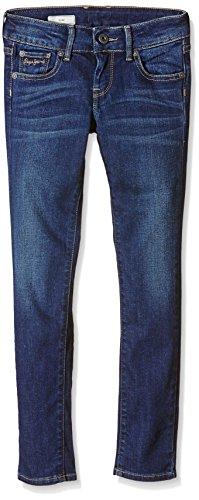 Pepe Jeans - New Saber, Blu Bambina,, Blu (Denim), 14 anni