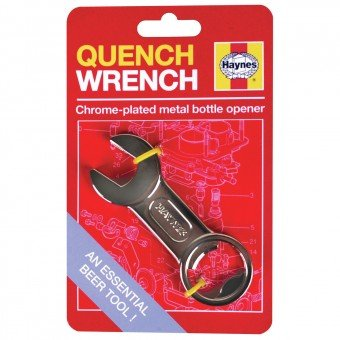 Haynes Quench Wrench Chrome Plated Metal Bottle Opener