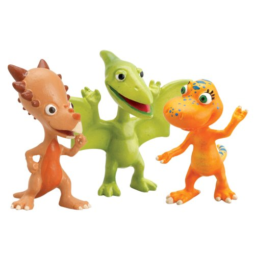 Learning Curve Dinosaur Train Collectible Dinosaur 3 Pack - My Friends Have Beaks And Bills: Don, Spikey And Annie