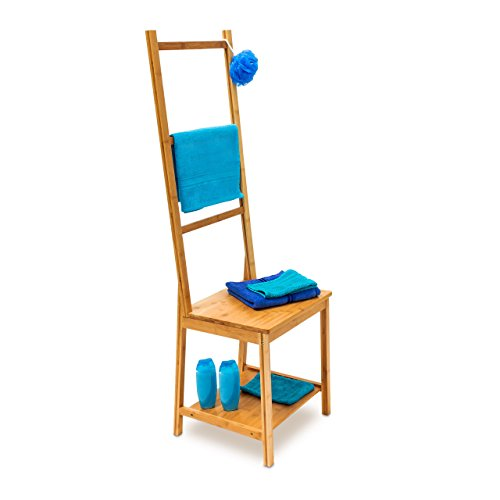 ᐅ Relaxdays 10019172 Kleiderstuhl aus Bambus als ...