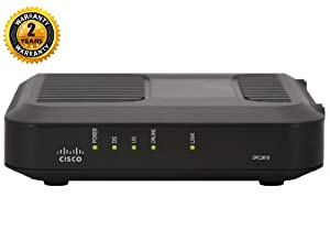 Cisco Model DPC3010 DOCSIS 3.0 8x4 Cable Modem - Cable modem - external - Hi-Speed USB / Gigabit E -